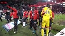 J19. Stade Rennais F.C./Bordeaux : ambiance fin de match