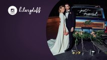 Hilary Duff shares first photo of wedding to Matthew Koma