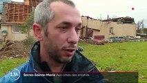 Intempéries : un violent coup de vent a ravagé le village de Serres-Sainte-Marie