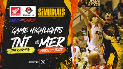 Highlights: G5: TNT vs Meralco | PBA Governors' Cup 2019 Semifinals