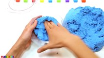 Learn Colors with Kinetic Sand PACMAN Eat Ice Cream and How To Make for Kids