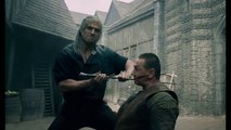 The Witcher  - Geralt Epic Market Fight Scene - (2019) Henry Cavill