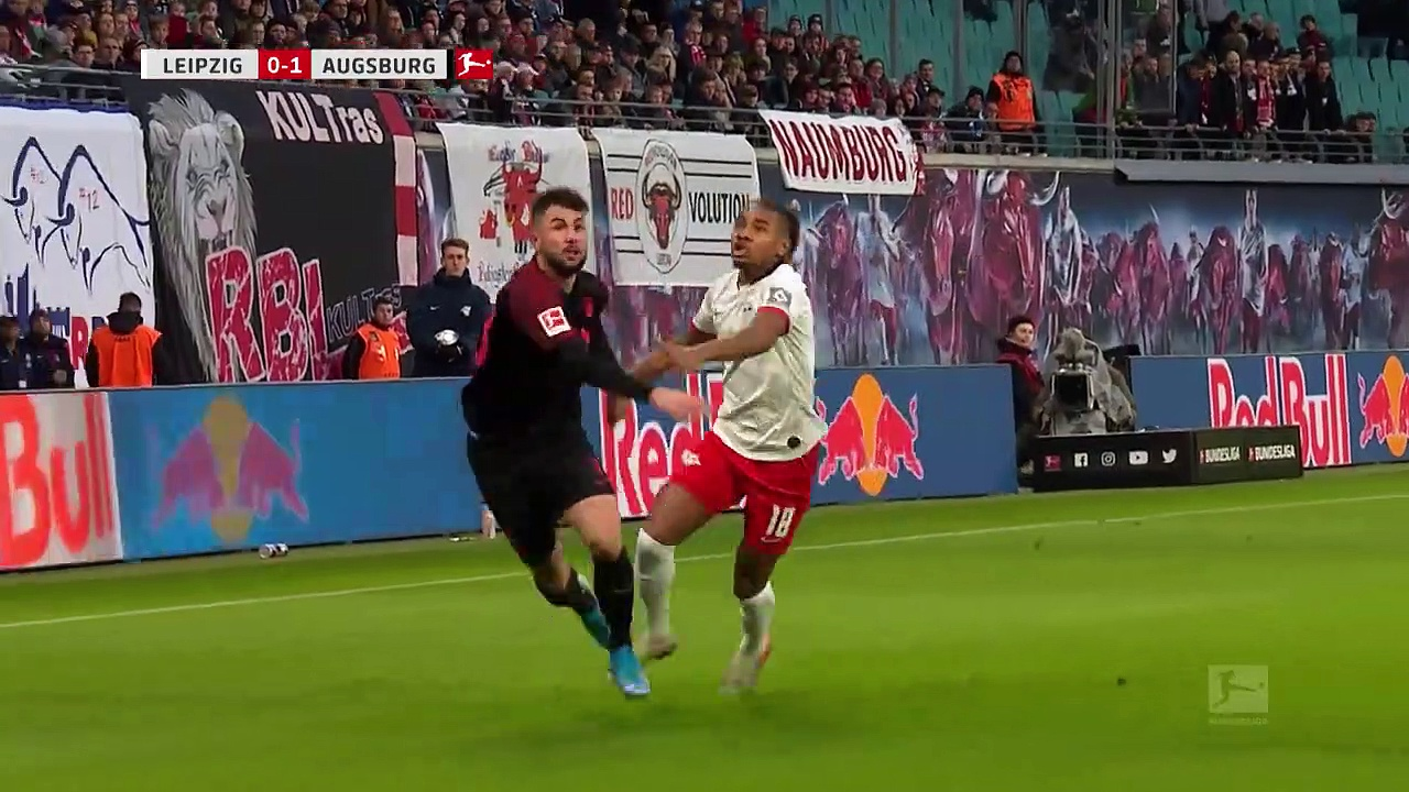 RB Leipzig - Augsburg (3-1) - Maç Özeti - Bundesliga 2019/20