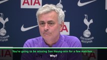 Do you think it was fair? Mourinho quizzes journo over Son red card