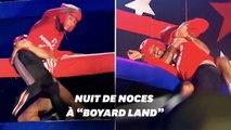 """Après leur mariage, Laury Thilleman et Juan Arbelaez font équipe à """"Boyard Land"""""""