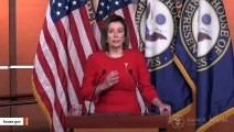 Pelosi Slams Trump's 'Phony Complaints' After He Calls His Impeachment 'Most Unfair'