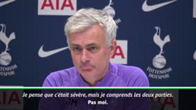 Tottenham - Mourinho s'insurge contre la suspension d'Heung-min Son