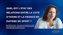Entretien avec le ministre des sports français