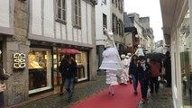 Deux jours avant Noël, les Échappées de Noël animent les rues du centre-ville de