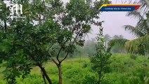 Heavy rainfall in Eastern Samar
