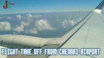 Flight Take off from Chennai International Airport I Flight Take  off I Chennai Airport I Spicejet Take off