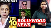 Top 10 Bollywood News - 23 Dec 2019 - Dabangg 3, Bigg Boss 13, Akshay Kumar