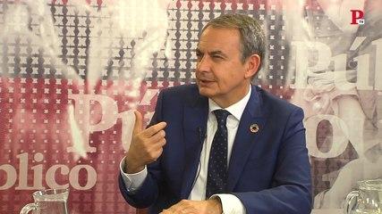 Zapatero dice que, mientras fue presidente, nunca escuchó hablar sobre Villarejo