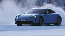 Hot on ice - the Porsche Taycan 4S in climatic extremes