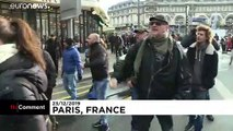 """France : manifestation """"surprise"""" dans le métro parisien"""