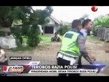 Bak Adegan Film, Polisi Kejar Pengendara yang Terobos Razia