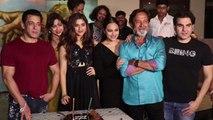 Saiee Manjrekar celebrates birthday with Dabangg 3 co-stars Salman Khan; Watch video   FilmiBeat