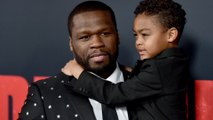 50 Cent takes son on Christmas shopping spree at Toys 'R' Us