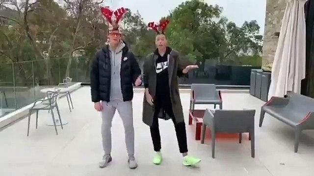 Tennis - Maria Sharapova and Jannik Sinner Post Funny Christmas Video
