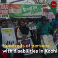 In Kochi, persons with disabilities protest against CAA, NRC