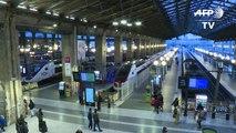 Navidad sin trenes en Francia por huelga