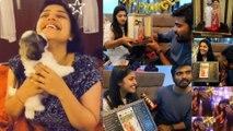 Sidhu's Birthday Surprise for Shreya Anchan | Thirumanam
