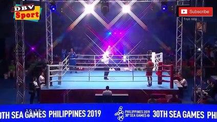 Nam vương của quyền anh Việt Nam - Trương Đình Hoàng THẮNG DỄ trước đối thủ dưới cơ