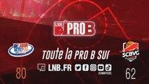 PRO B : Rouen vs Saint-Chamond (J12)