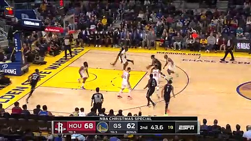 Houston Rockets 104 - 116 Golden State Warriors