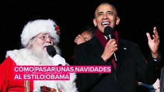 Cómo celebrar las Navidades al estilo Obama