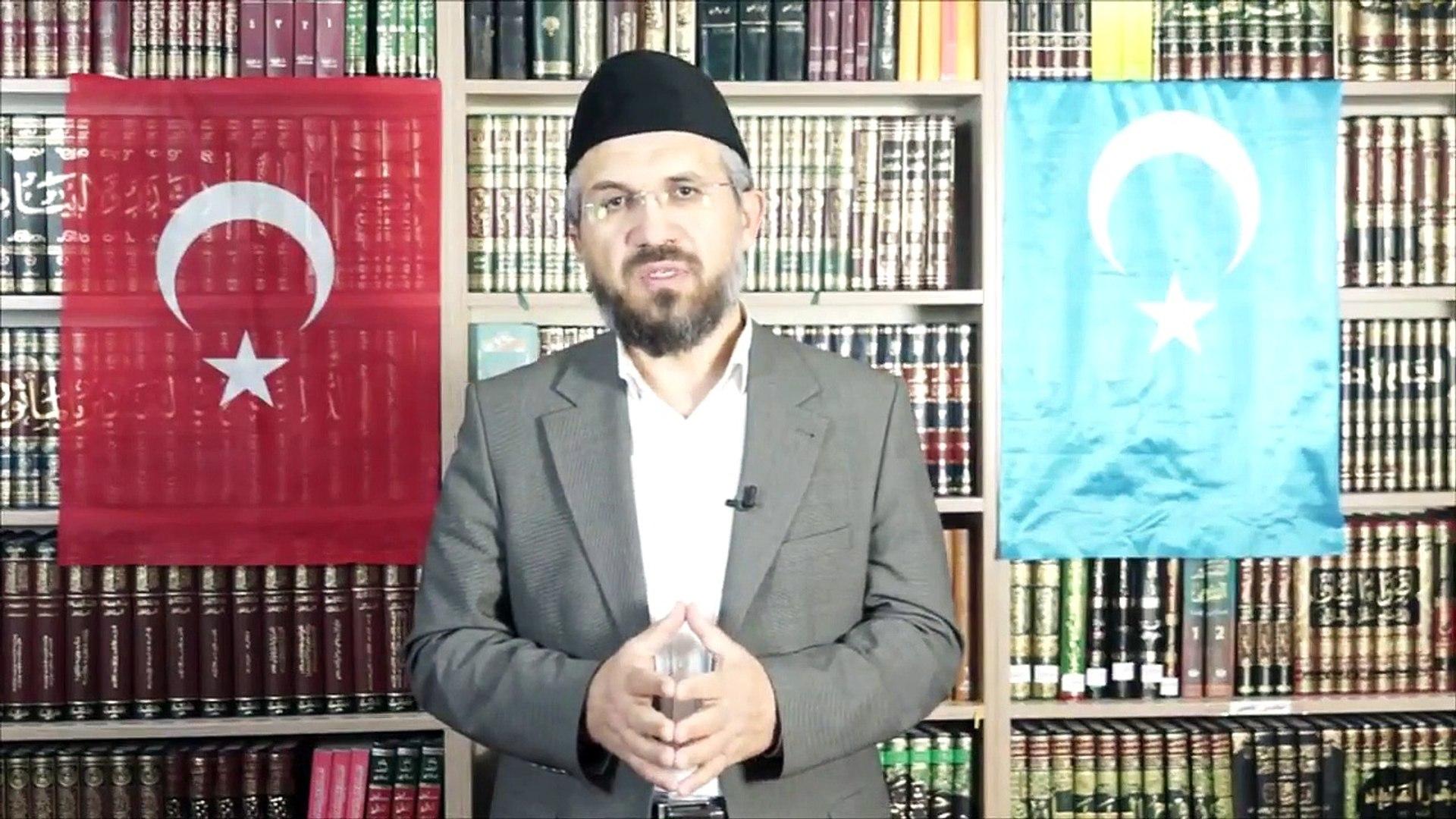 İhsan Şenocak'tan Doğu Türkistan mitinglerine destek çağrısı