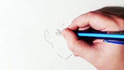 Comment dessiner Ishigami Senku - Dr. Stone