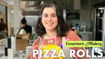Pastry Chef Attempts to Make Gourmet Pizza Rolls