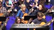 AGDE - Concert de noel de l'école de musique dernière partie