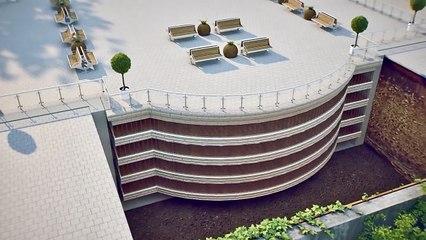 4 Story Building Pops Up From Undergound - Dahir Insaat Tech
