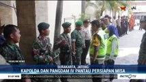 Kapolda Jateng dan Pangdam IV Diponegoro Pantau Persiapan Misa Malam Natal di Setiap Gereja