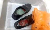 Ürdün'de ayakkabılara gizlenmiş 8 nadir kuş bulundu