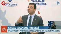 Ekrem İmamoğlu: Kanal İstanbul felaket, ihanet ve cinayet projesidir