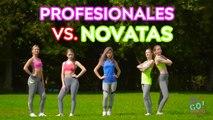 ¡DESAFÍO DE ACROBACIAS IMPOSIBLES! PROFESIONALES vs. NOVATAS -- Trucos de gimnasia
