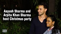 Aayush Sharma and Arpita Khan Sharma host Christmas party