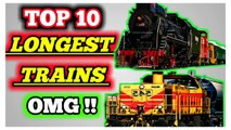 Top 10 Longest Trains in the world, World's Longest Train, train video, World's Longest Train 2019, World's Longest Train 2020