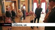 La famille royale britannique met la main à la pâte