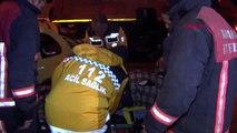 Ankara'da otomobil, temizlik aracı ve panelvana çarptı 1 yaralı