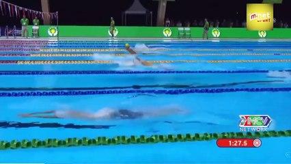 Kình ngư 16 tuổi - Hưng Nguyên của Việt Nam phá kỷ lục SEA Games