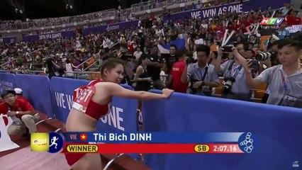 Đặng Thị Bích CẮN RĂNG CHỊU ĐỰNG chấn thương để giành vàng SEA Games