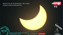 'Ring of Fire': Solar eclipse seen from Sri Lanka