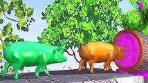 Los animales de granja y sus crías se transforman en animales salvajes y sus crías -19 parte 19