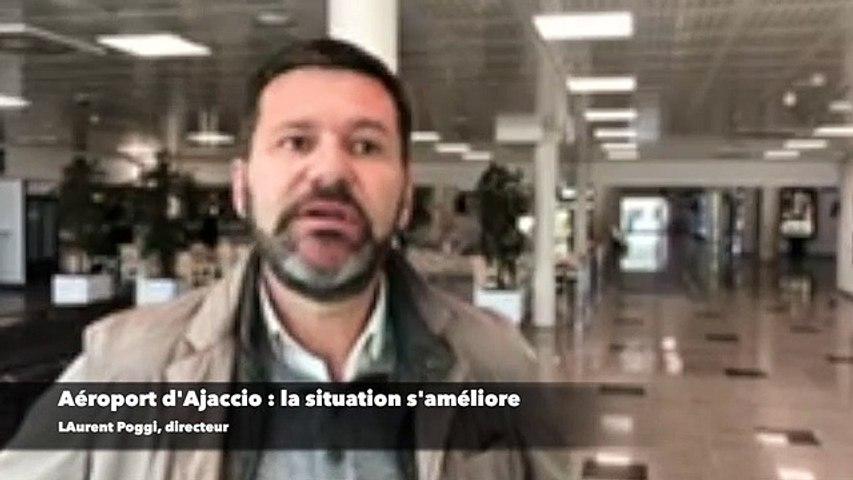 Aéroport d'Ajaccio : la situation s'améliore