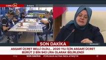#CANLI Bakan Selçuk asgari ücret rakamını açıkladı