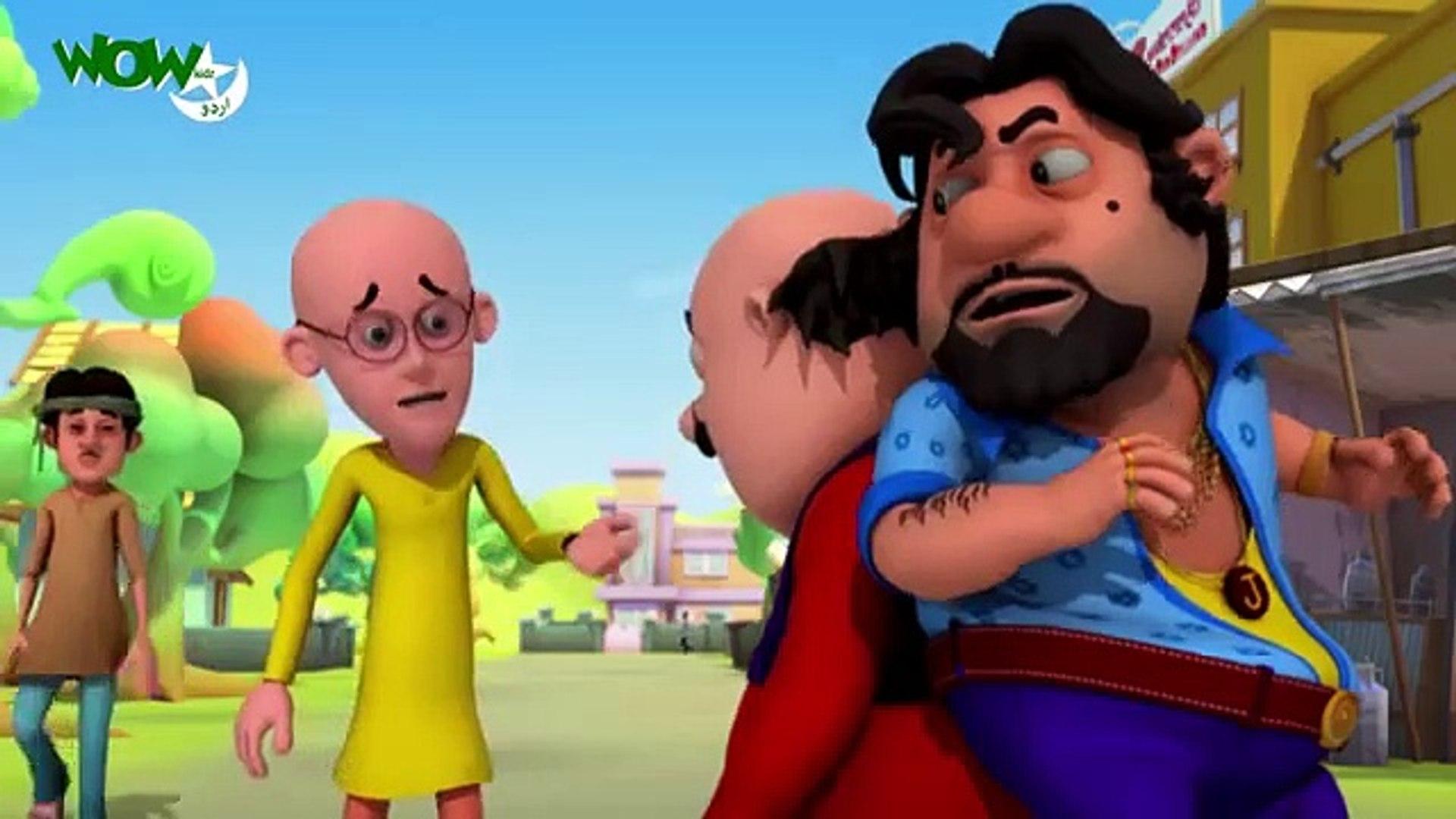 Motu Patlu - Kids Cartoon in Urdu - Motu Vs John - Ep 76B - Urdu Cartoons